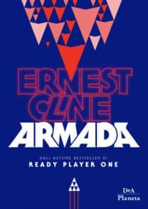 Cover italiana Armada, il nuovo libro di Ernest Cline